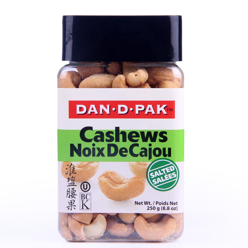 ~天貓超市~越南 丹帝DAN﹒D﹒PAK腰果鹽味250g 罐 堅果零食