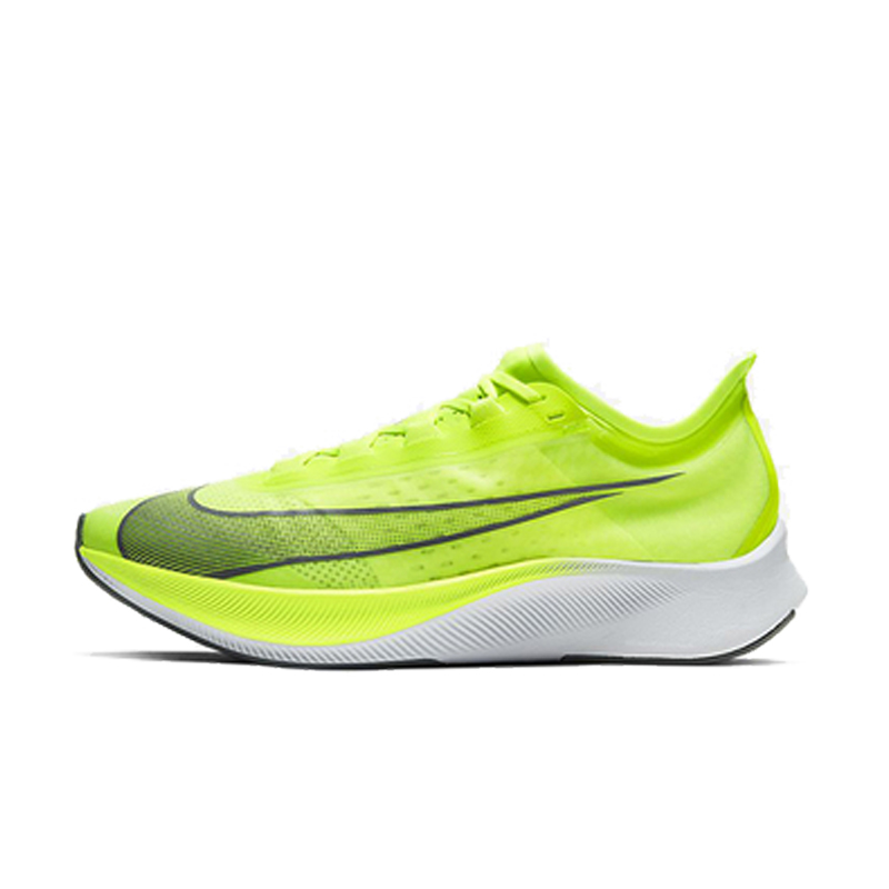 NIKE ZOOM FLY 3 men's comfortable marathon cushioning and rebound sports running shoes AT8240-700