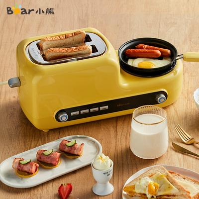 小熊烤面包机家用多功能早餐机多士炉土司机全自动吐司机