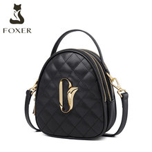 Golden Fox INS Mini-compact Baggage Girl 2019 New Small Fragrance Ling Ge Single Shoulder Fashion Slant Baggage