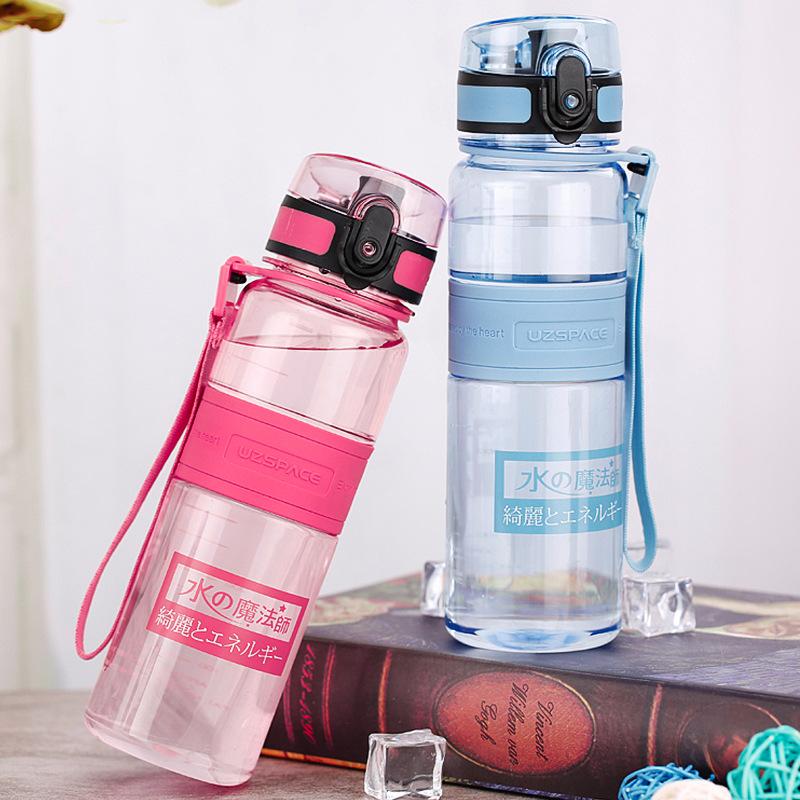 水の魔??水杯正品500 ml女子学生プラスチックは、耐落下性に?れています。