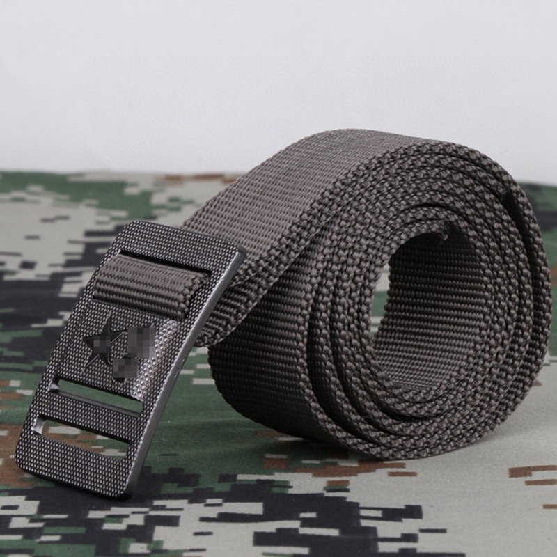 Genuine new camouflage clothing armed belt nylon belt woven inner canvas as training belt for army fans jeans