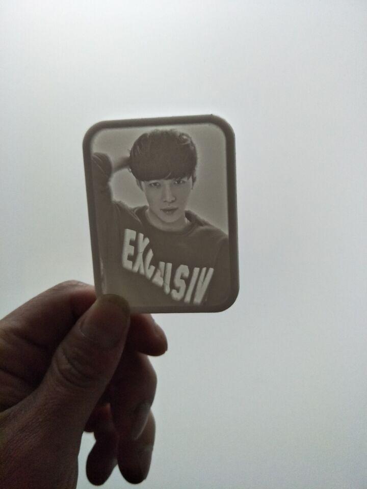 微影张艺兴lay私人定制专属珍藏纪念创意卡照片diy包邮exo钥匙扣,可领取5元淘宝优惠券