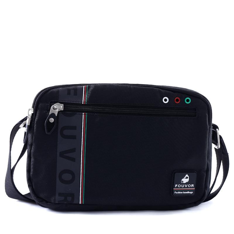 Mens waterproof oxford nylon outdoor cross bag leisure bag diagonal backpack Korean version Versatile Single Shoulder Bag diagonal bag