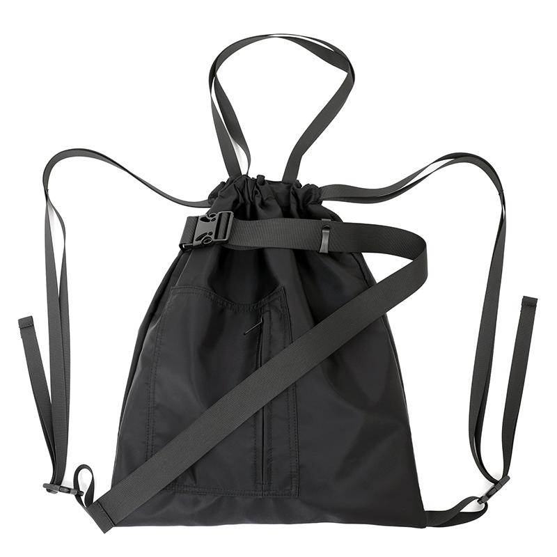 束口袋尼龍運動健身包旅行袋男女中性單肩手提抽繩包書包雙肩背潮