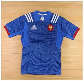 ORIGINAL rugby阿達法國隊速干球衣橄欖球訓練健身運動服 T21287圖片