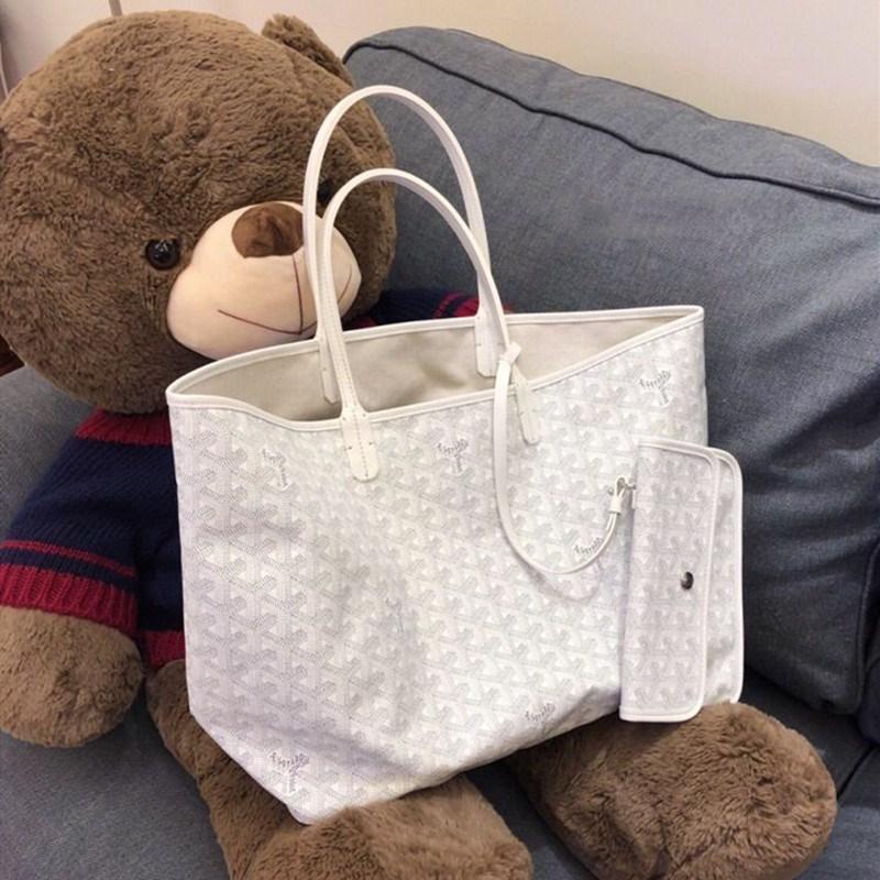 假一赔三狗牙包韩国包包女2019新款水桶包大容量购物袋单肩手提妈咪子母包