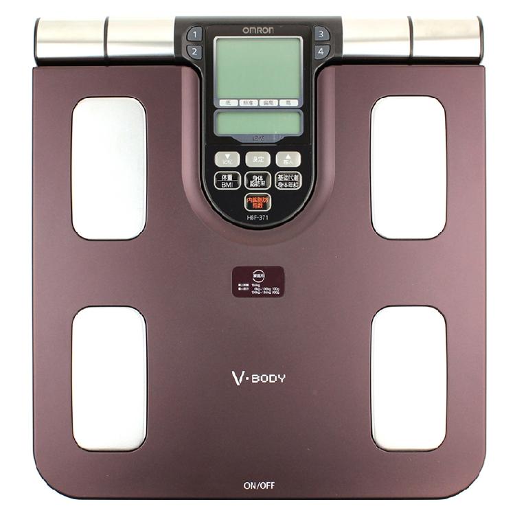 С чеком Omron измерительный прибор для измерения жировых отложений HBF-371 висцерального жира тела жировой массы тела возраст