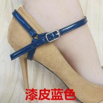 Black heel strap Satin ankle fixed heel hot selling ankles color high heels lace ankles
