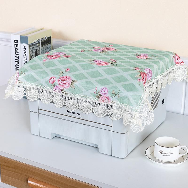打印机家庭传真机咖啡机电脑净化器盖巾防尘罩茶具茶杯台灯布盖布(用12.8元券)