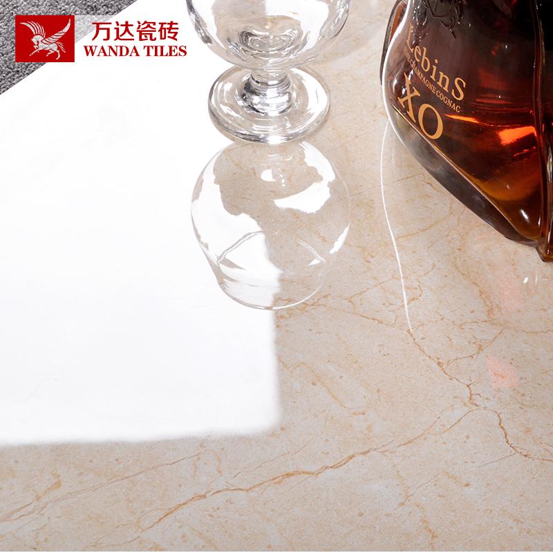 佛山瓷砖金刚石地板砖600x600客厅卧室玻化砖全抛釉仿大理石地砖