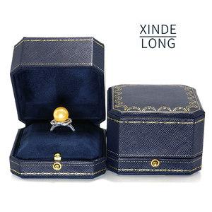 珠宝首饰盒创意求婚戒指盒吊坠盒高档钻戒盒项链盒婚礼森系对戒盒