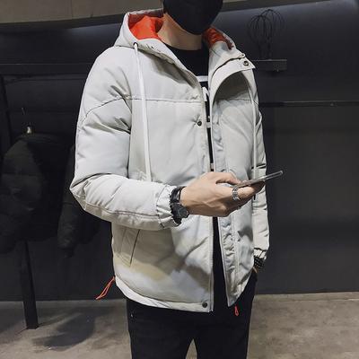 棉衣男冬季外套韩版棉袄加厚羽绒面包棉服潮2018新款DS295TP145