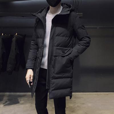 2018新款中长款面包棉衣男士棉服羽绒冬季外套潮流棉袄DS271TP190