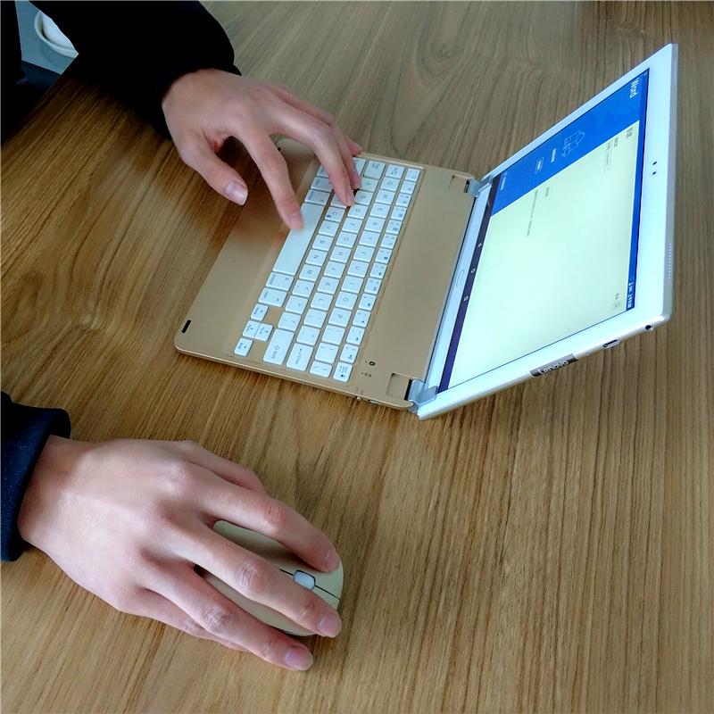 虎克支架蓝牙键盘适用于三星T825平板 9.7英寸蓝牙键盘 Galaxy Tab S3/2支架键盘