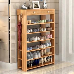 鞋架多层家用经济型多功能简易收纳鞋柜家里人简约现代防尘鞋架子