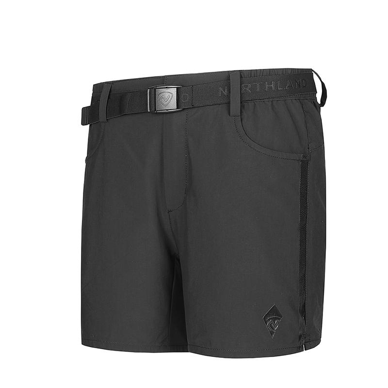 诺诗兰春夏户外女士速干短裤透气舒适跑步快干短裤GQ072142