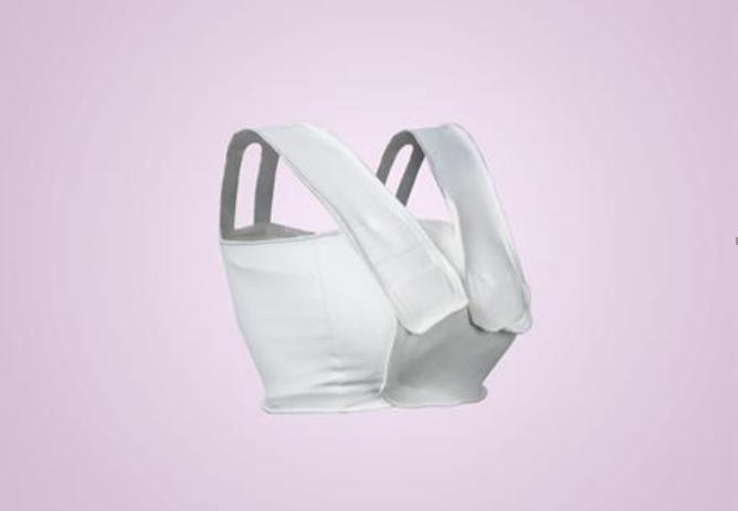 乂帮新品乳腺压力绷带S型透气柔软舒适个人护理护具成人护肩