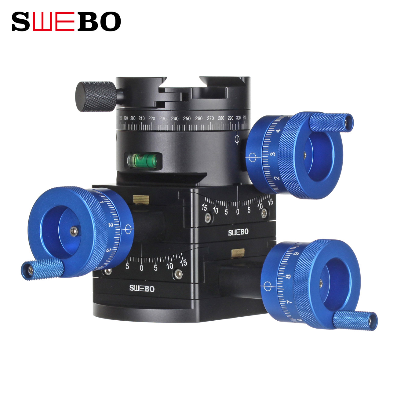 Swebo new dimension nd116 gear omnidirectional fine tuning PTZ star panoramic delay photography video shooting