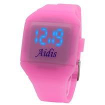 A16MY学生国产腕表LED电子机芯手表时尚潮流防水2013爱迪时Aidis