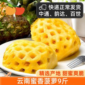西域美农云南蜜香新鲜当季手撕菠萝