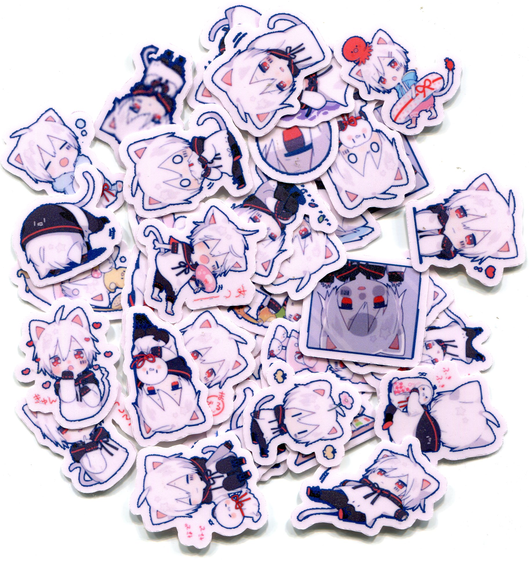 Mafumafu Sticker (cat) vol.2 手帐相册贴纸 40张 Z 837