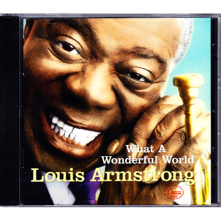 爵士天碟 Louis Armstrong WHAT A WONDERFUL WORLD 阿姆斯特朗CD