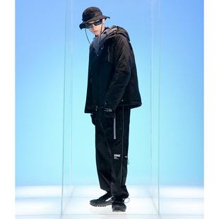 Lilbetter機能短款棉衣男日系工裝加厚外套2020年秋冬痞帥衝鋒衣