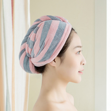 519 dry hair cap strong water absorption quick drying magic device wipe hair dry hair towel thickened Baotou towel bathing cap lovely quick drying cap