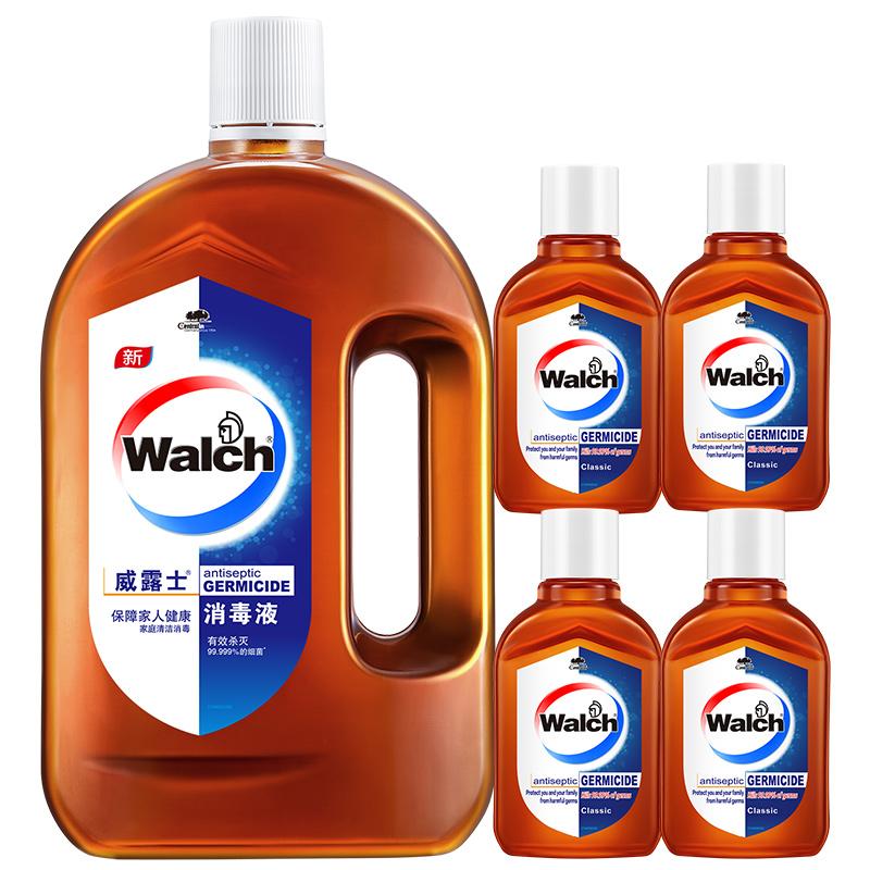 威露士消毒液家居衣物消毒家用消毒室内杀菌除菌液套装促销装包邮