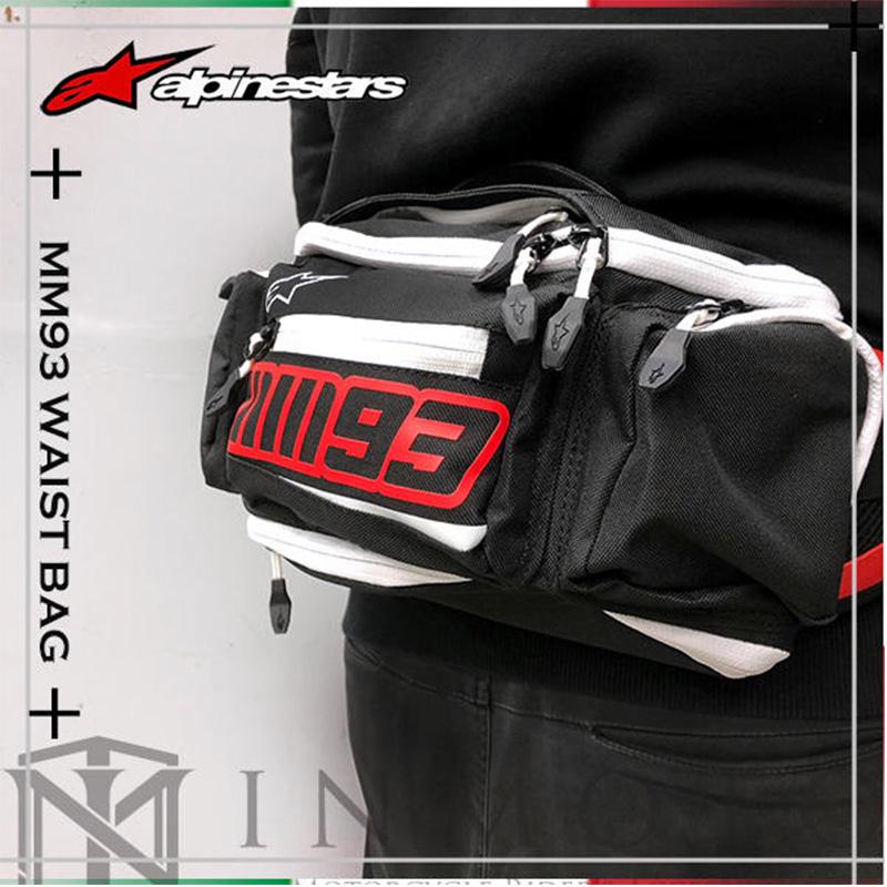 意大利A星alpinestars摩托车骑行腰包MM93马奎斯联名款装备休闲包