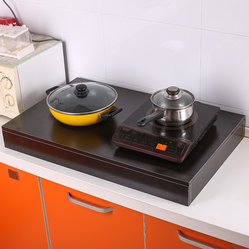 電磁気炉棚台液化天然ガスコンロ蓋机かまど蓋板厨房用品防塵サポート