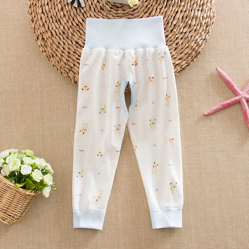 嬰兒純棉高腰春秋寶寶內衣