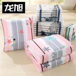 火烈鸟创意三合一加厚可拆抱枕被子两用小折叠可爱拉链拆洗暖手卡