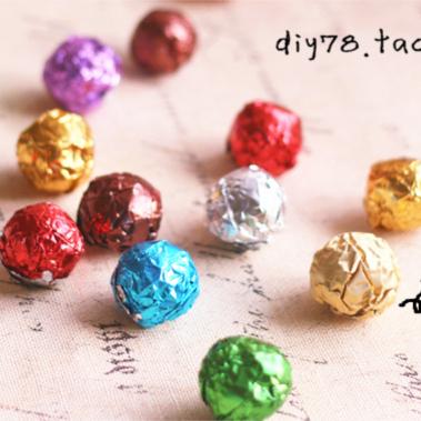 100 чжан / мешок шоколад пакет бумага / сахар бумага / фольга олово бумага / цвет [(7] факультативный [)]