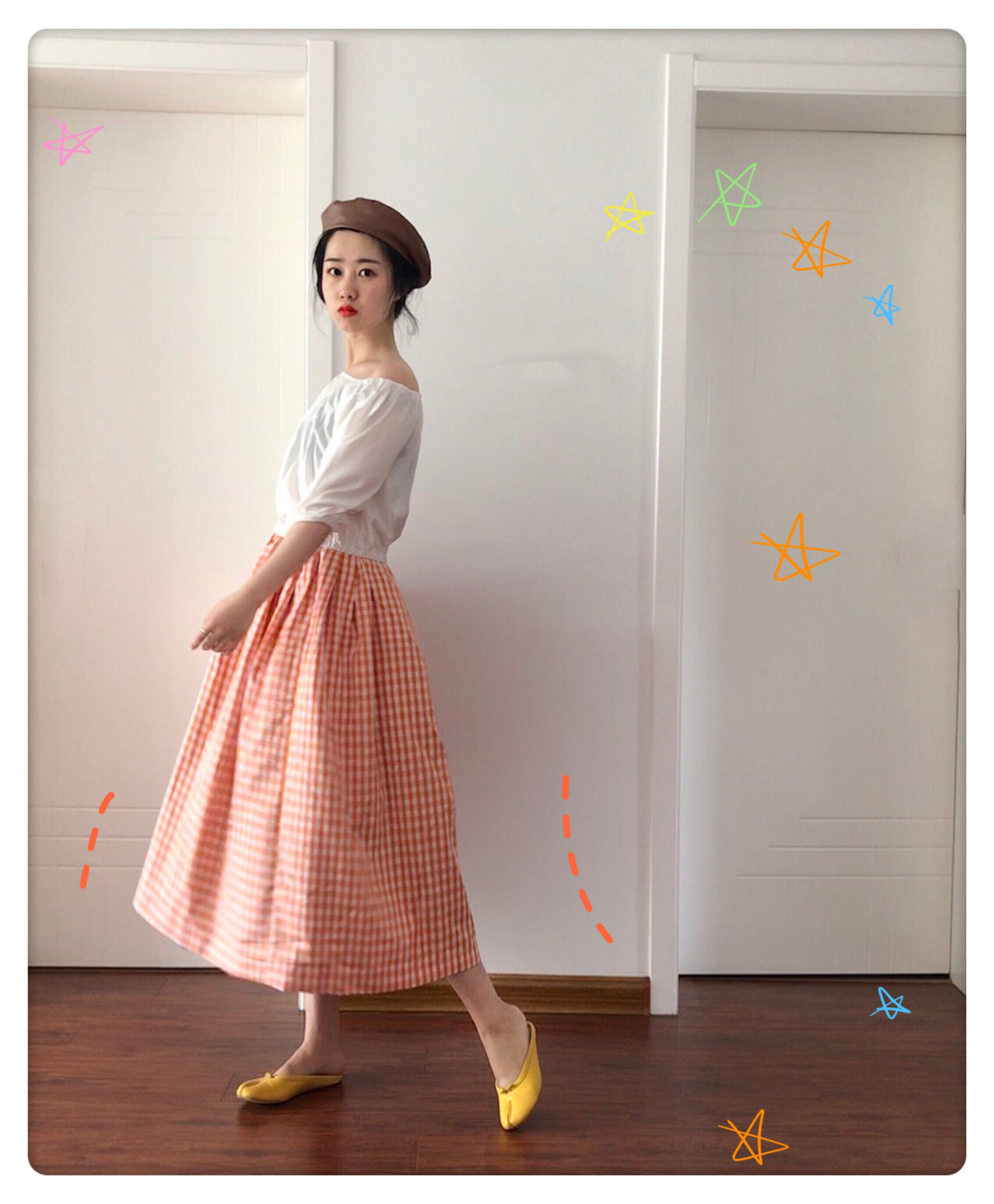 Urchin adult summer very fairy French minority lattice skirt in the long section of small fresh high waist womens skirt