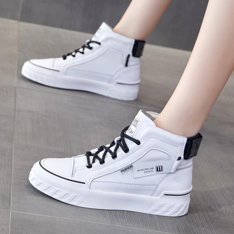 Женские ботинки на платформе / Высокие кроссовки Артикул 601885970304