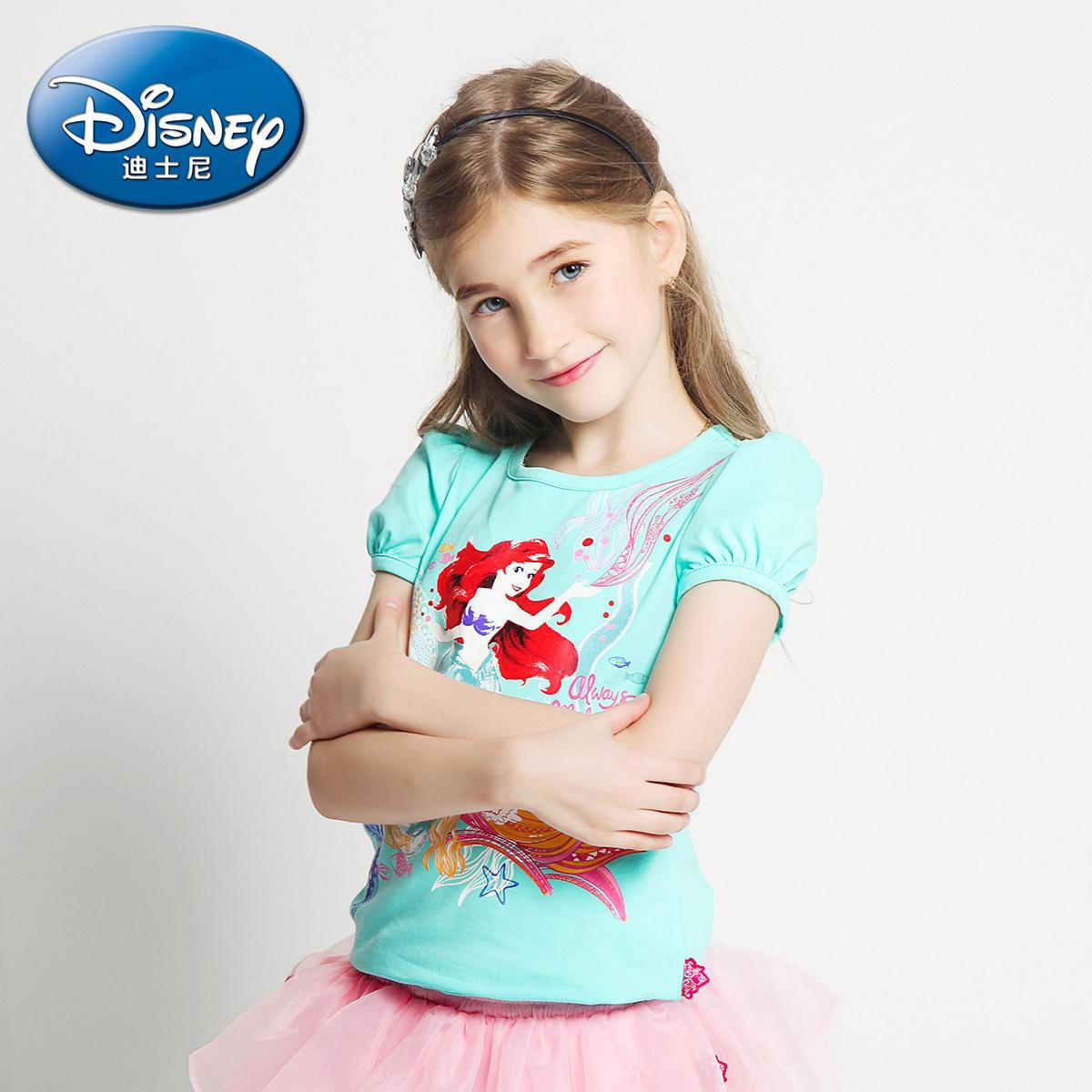 迪士尼公主中大童打底衫