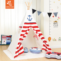 Infanton Childrens tent indoor boy game house Indian princess Room girl children reading corner Gifts