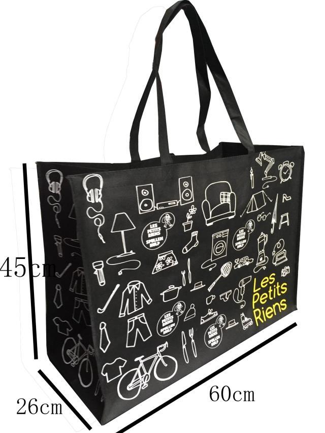 60*45*26横款加厚无纺布袋子精美漂亮图案礼品袋手提包装袋特惠