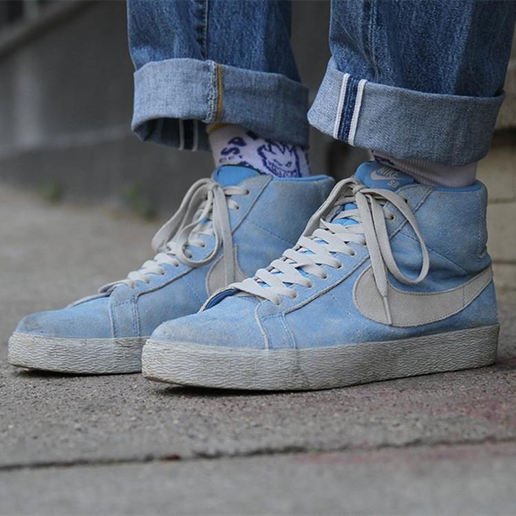 代购耐克联名款Nike SB Blazer xLance Mountain经典复古男士板鞋