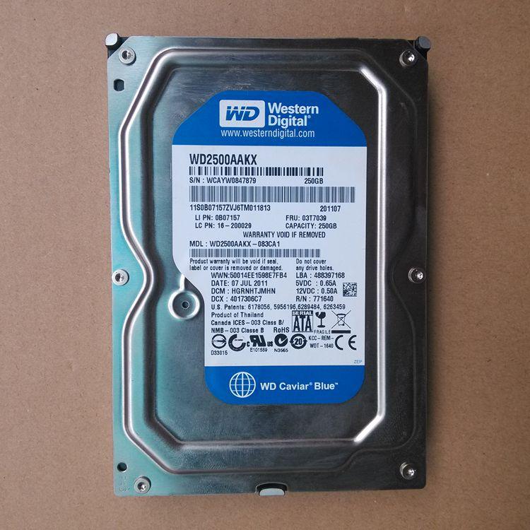西数/WD单碟双碟 80G160G250G320G 500GSATA串口台式二手机械硬盘