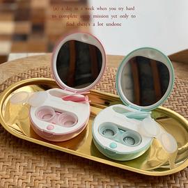 安瞳液态硅胶电动清洗器便携隐形眼镜盒高档可爱美瞳全自动清洁器