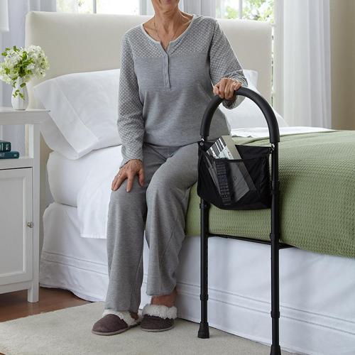 Кровать для пациентов верх Забор помог подняться на домашний подлокотник вверх, старая поставка помогает использовать стойку