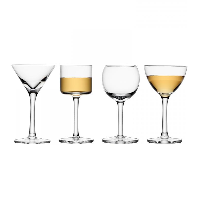 生活态度 LSA英国进口手工玻璃LULU红酒杯香槟杯烈酒杯套装欧式