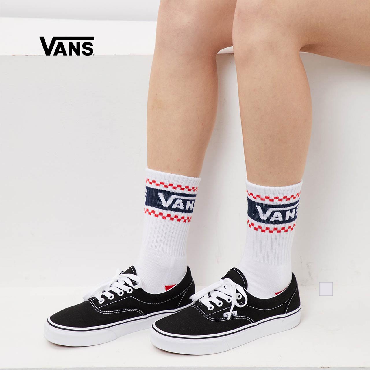 Vans范斯 女子长袜 袜子 运动休闲正品 thumbnail