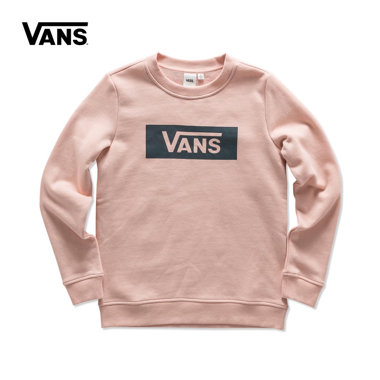 Vans/ модель этот весна - деньги рукав голову свитер |VN0A3IO8BLK/P2I