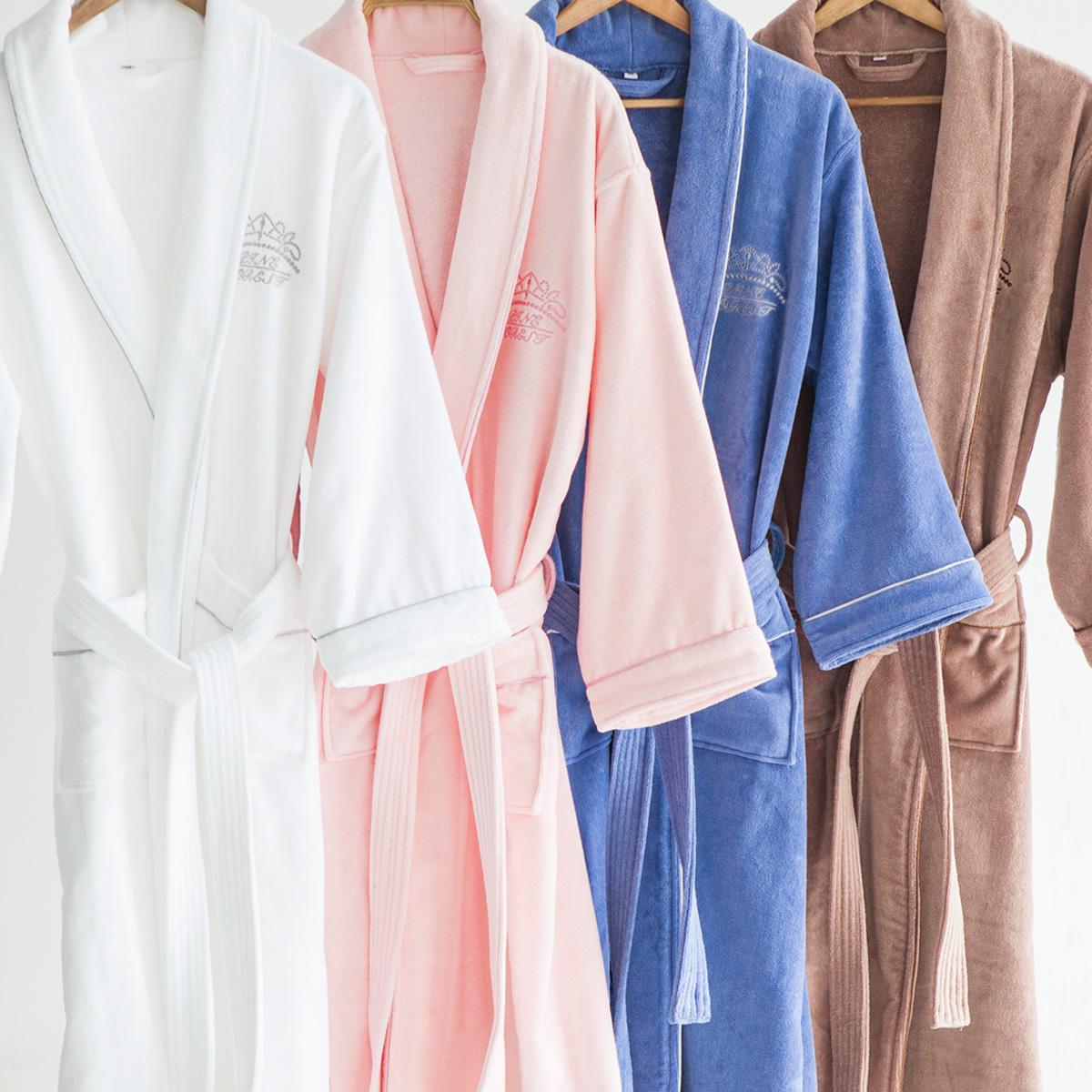 Сосна лес пять звезд уровень отели хлопок халаты мужской и женщины ученый любители ткань для полотенец для взрослых хлопок ванна одежда мягкий абсорбент