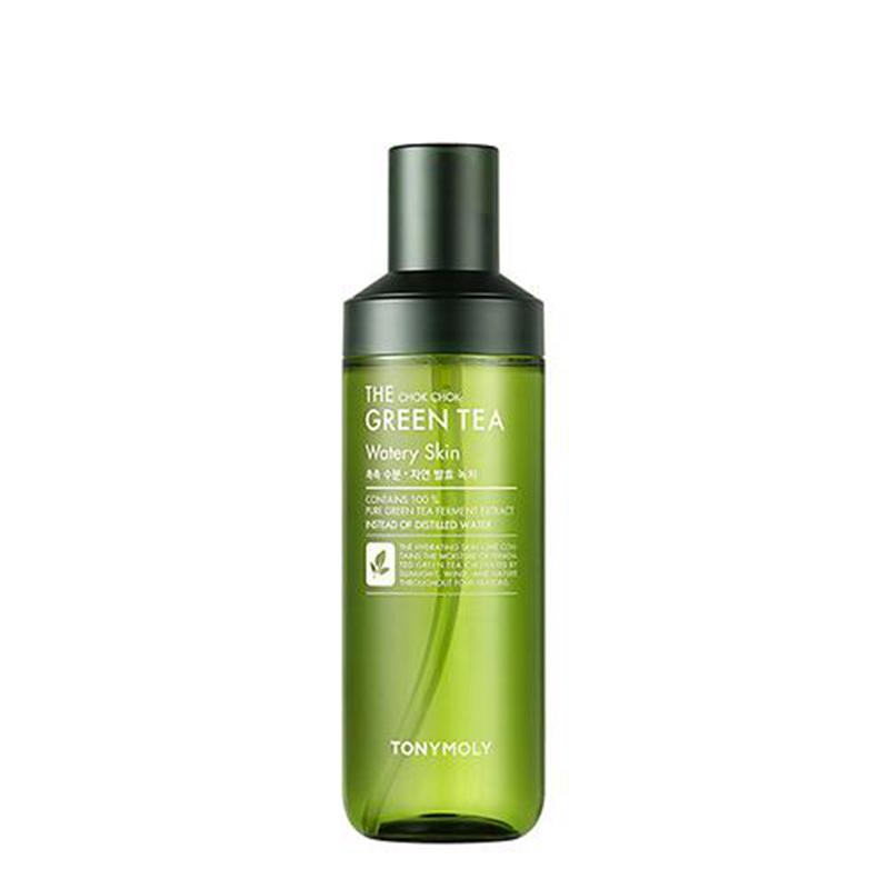 韩国进口TONYMOLY托尼魅力森林茶树多酚发酵润湿温和控油化妆水