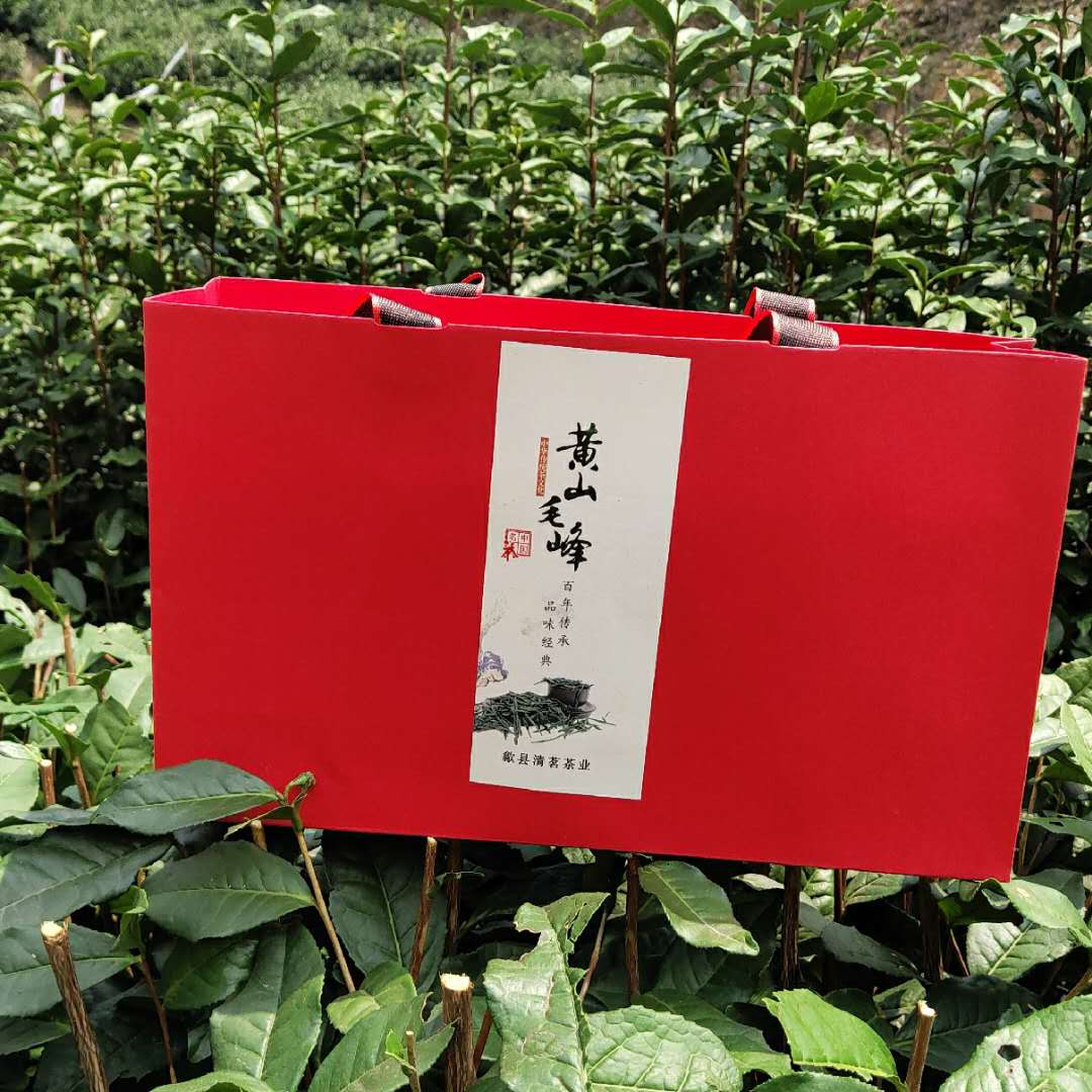 There are only two sets of 2020 new tea, Anhui Huangshan famous tea, Maofeng, a box of 20 small packages of Shexian Qingming tea